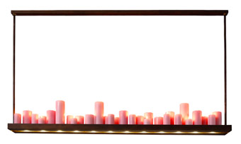 Uwe van Affdern - Kerzen LED Leuchte