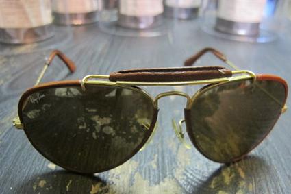 ray ban sonnenbrille leder