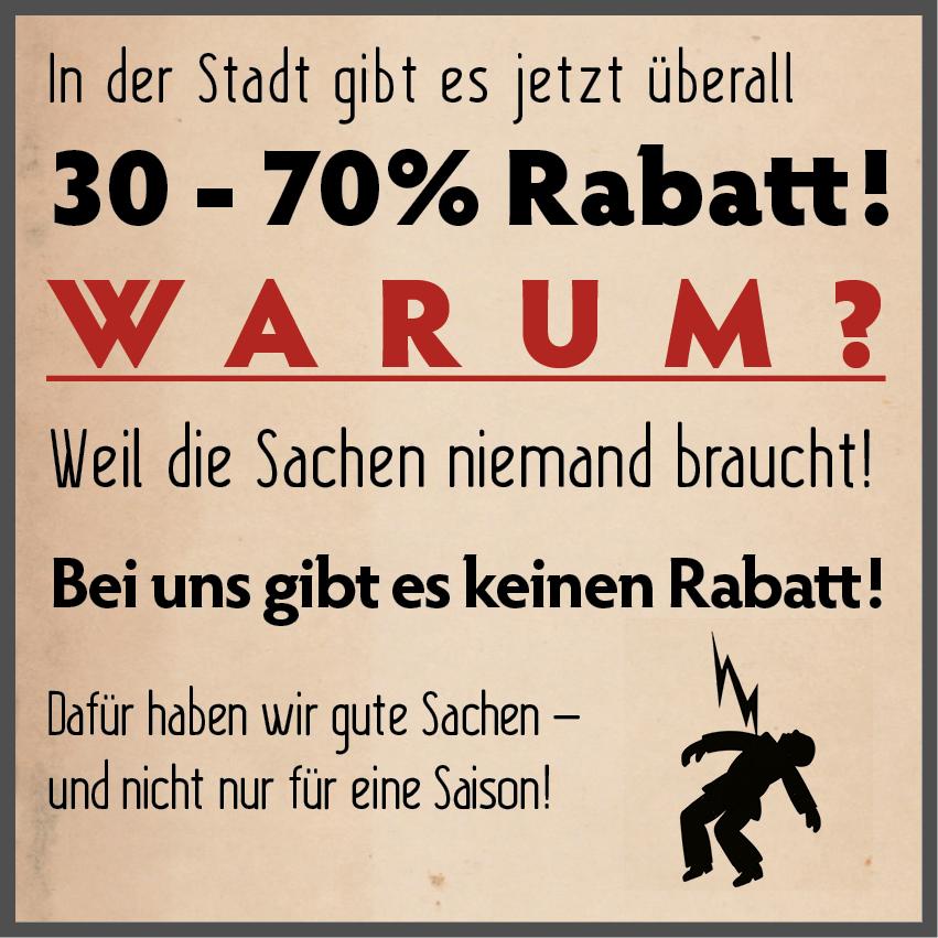 Anti-Rabatt-Bild