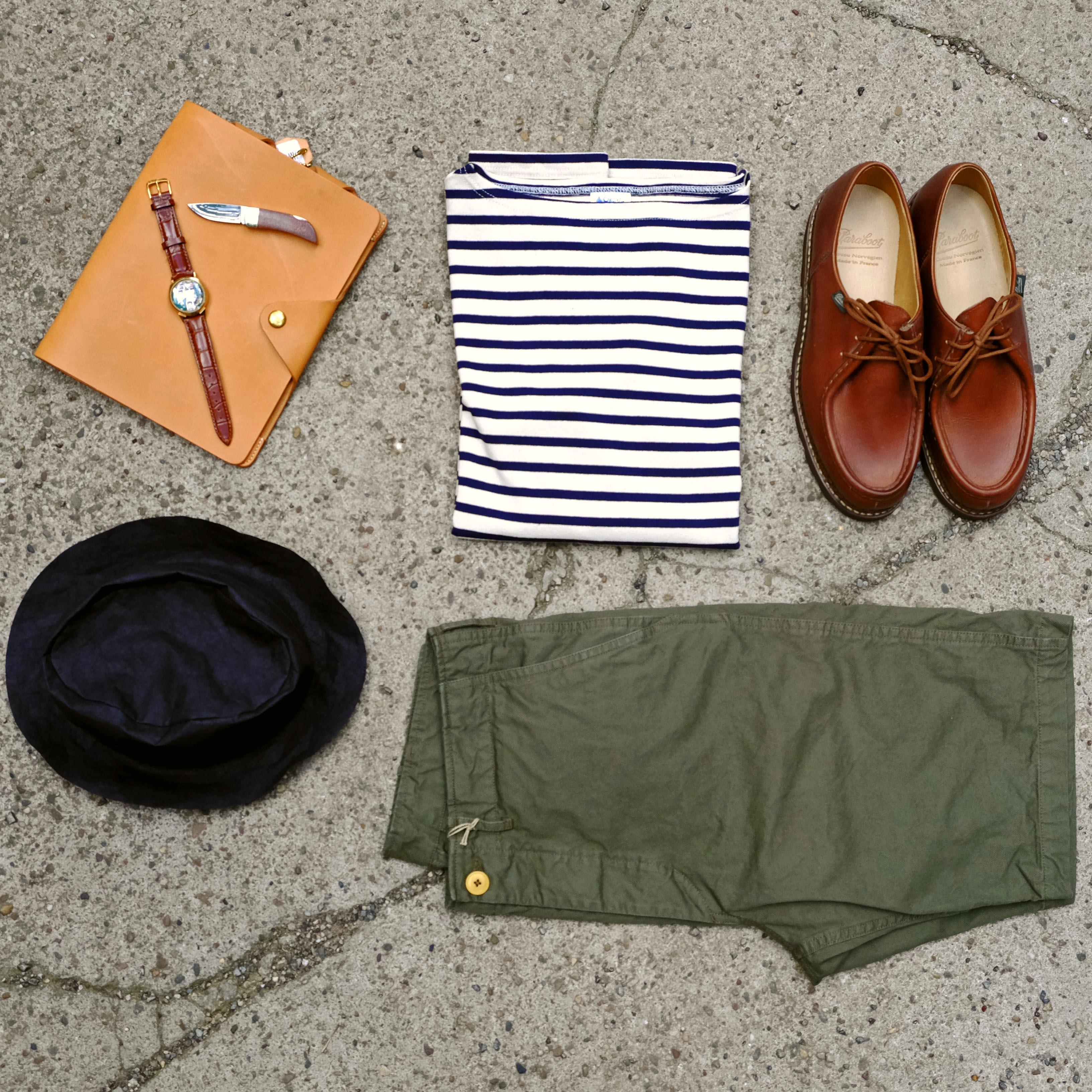 orcival-shirt-shorts-paraboot-bulova-scha-hut