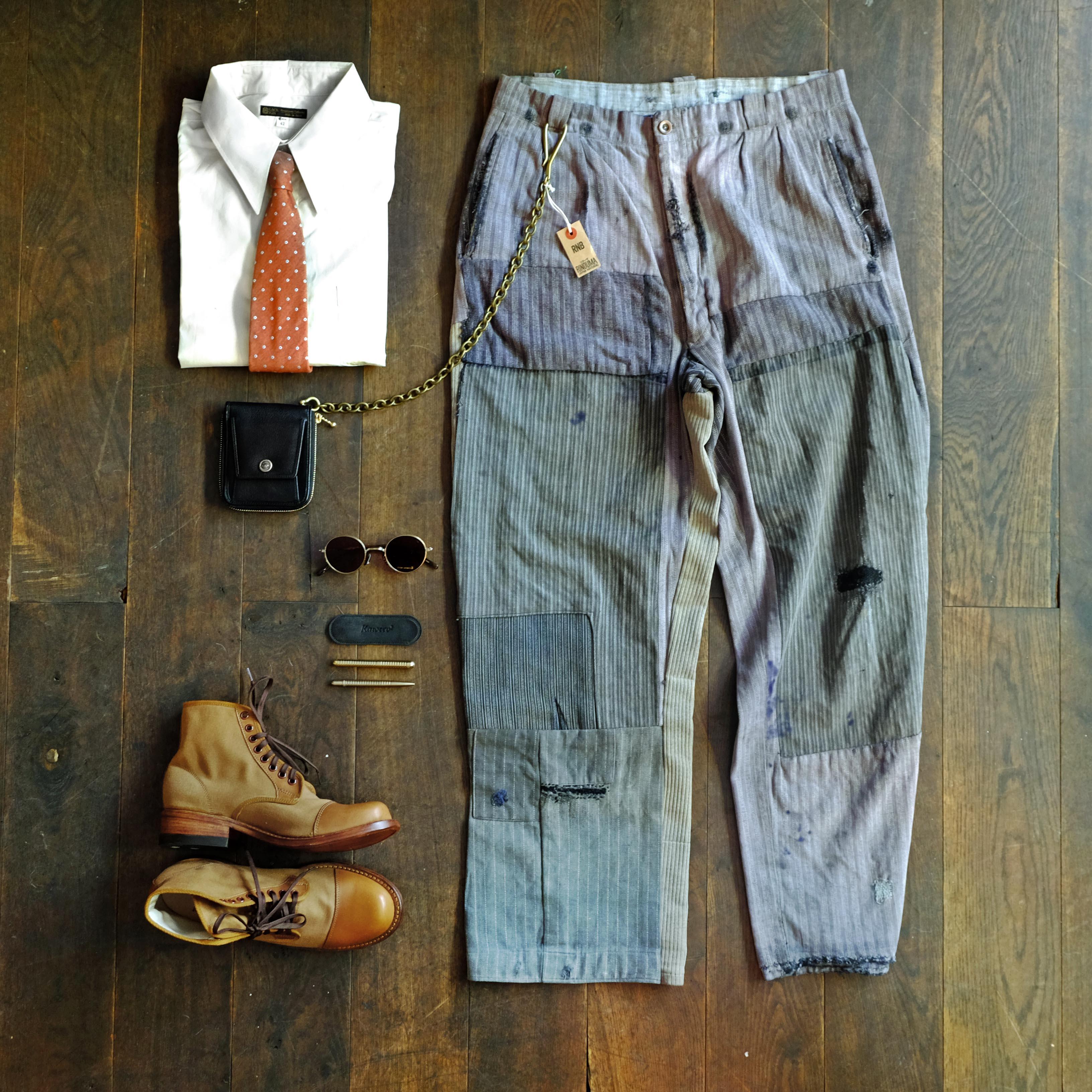 outfit-vintage-arbeiterhose-blacksign-hemd-risingsunboots-eyevan