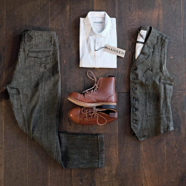 outfit-hansen-komplett-tweed-anzug-interbrigade-derby-boots