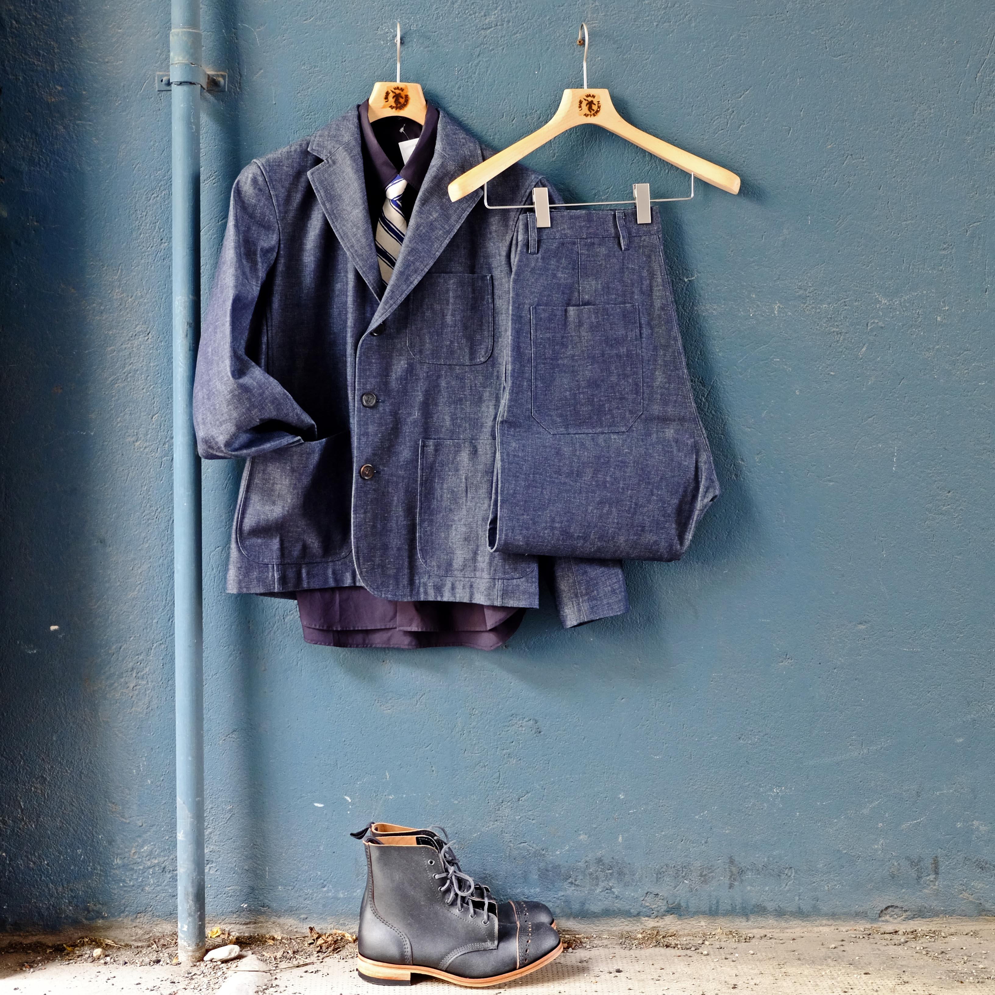 sofiedhoore-anzug-suit-denim-jeans