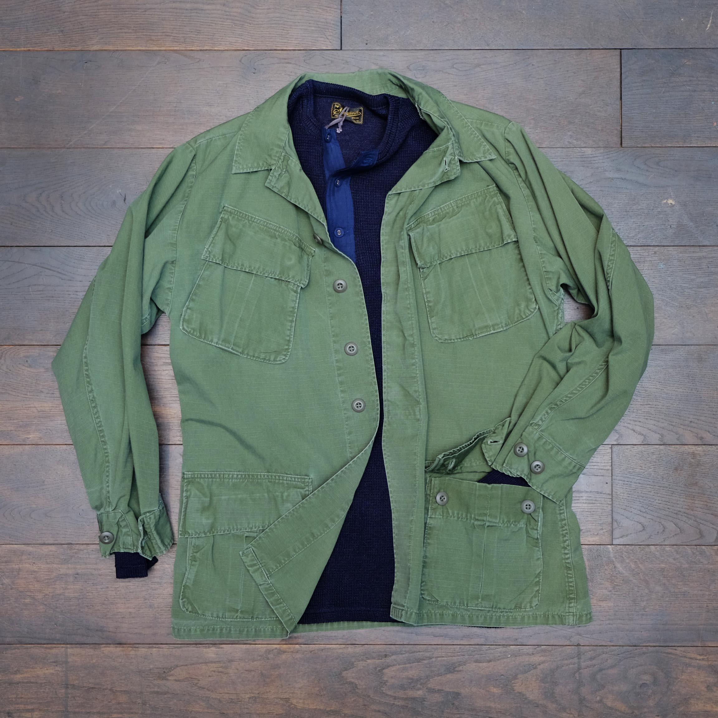 stevenson-overall-henley-indigo-vintage-armyjacke-vietnam-djungle