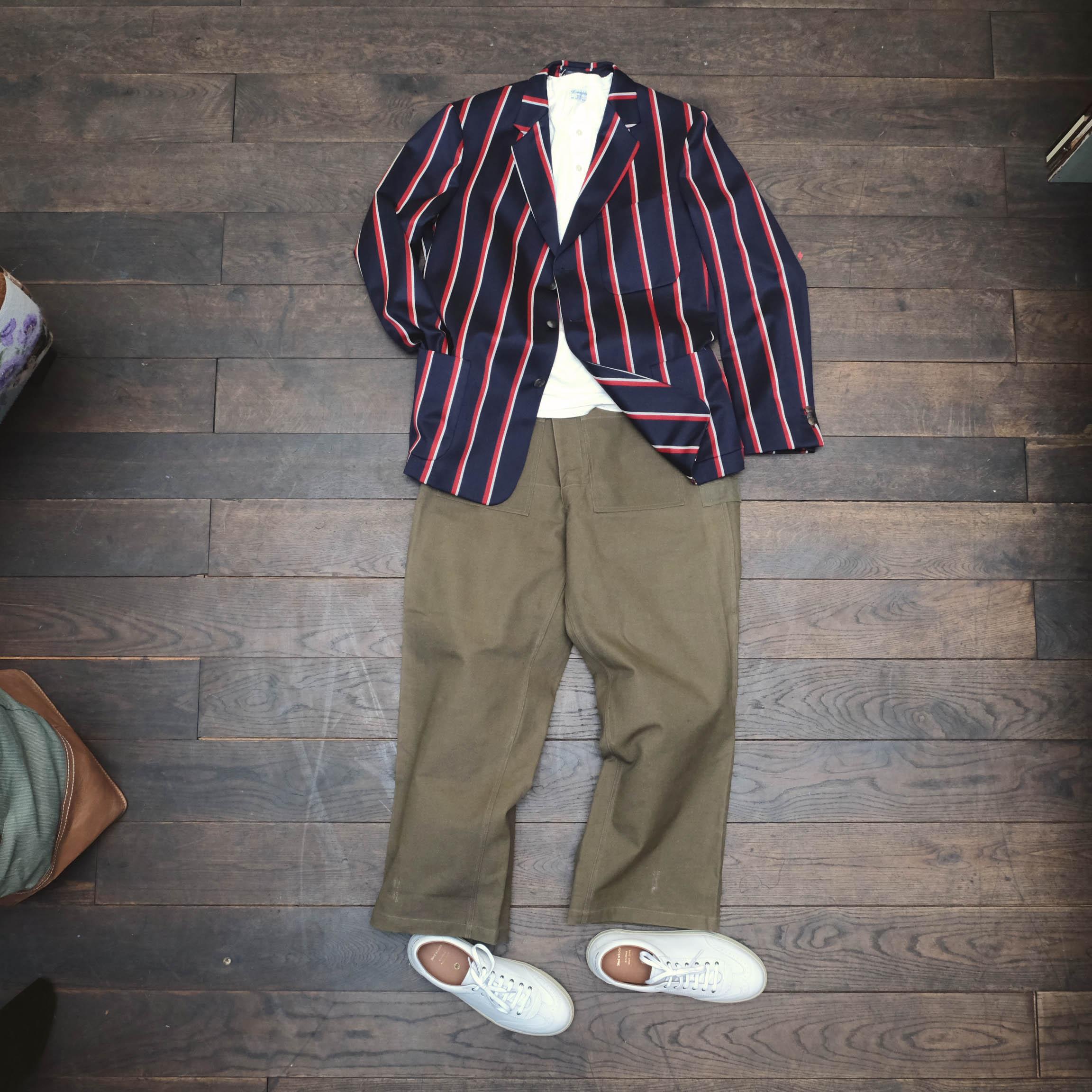 tommypage-clubblazer-vintage-hose-militär-medwinds-sneaker-homespun-shirt