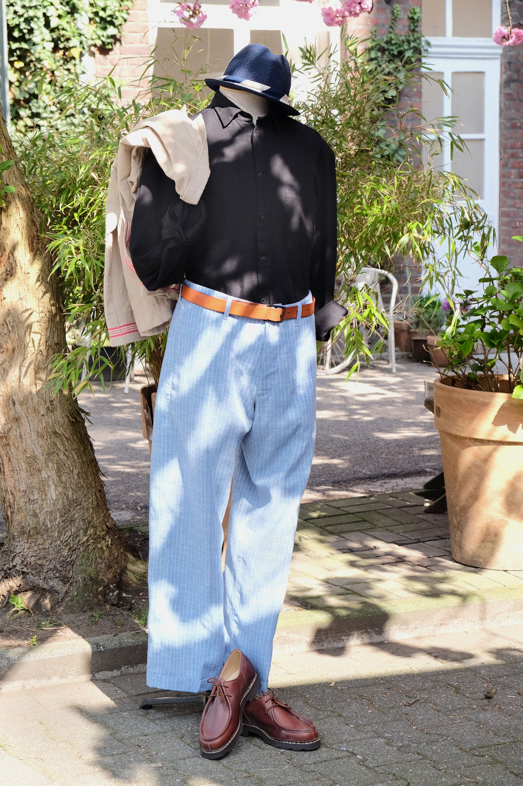 outfit-sommer-interbrigade-hannesroether-paraboot-vintage-bluebluejapan-01