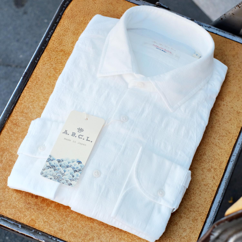 leinenhemd-abcl-japan-weiss-muster-singleneedle-sommer-hemd