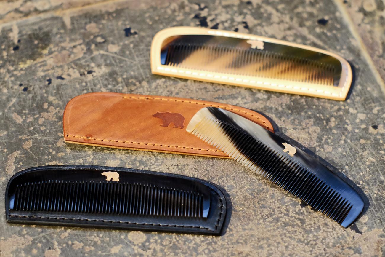 ondura-durable-goods-hornkamm-leder-etui-schwarz-horn-kamm