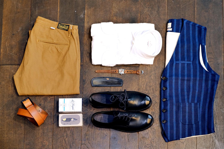 outfit-orgueil-chino-abcl-japan-hemd-weste-thelastconspiracy-schuhe-vintage-oelsardinen-ondura-kamm-rolex-goodstuff-welldressed