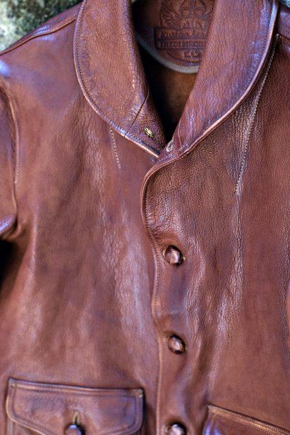 thedi-leathers-jacken-canvas-vintage-lederjacke-detail-leder-knoepfe