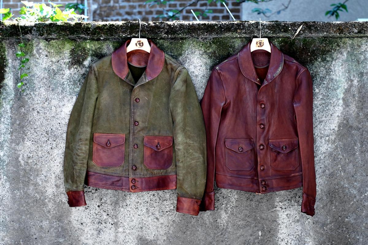 thedi-leathers-jacken-canvas-vintage-lederjacke