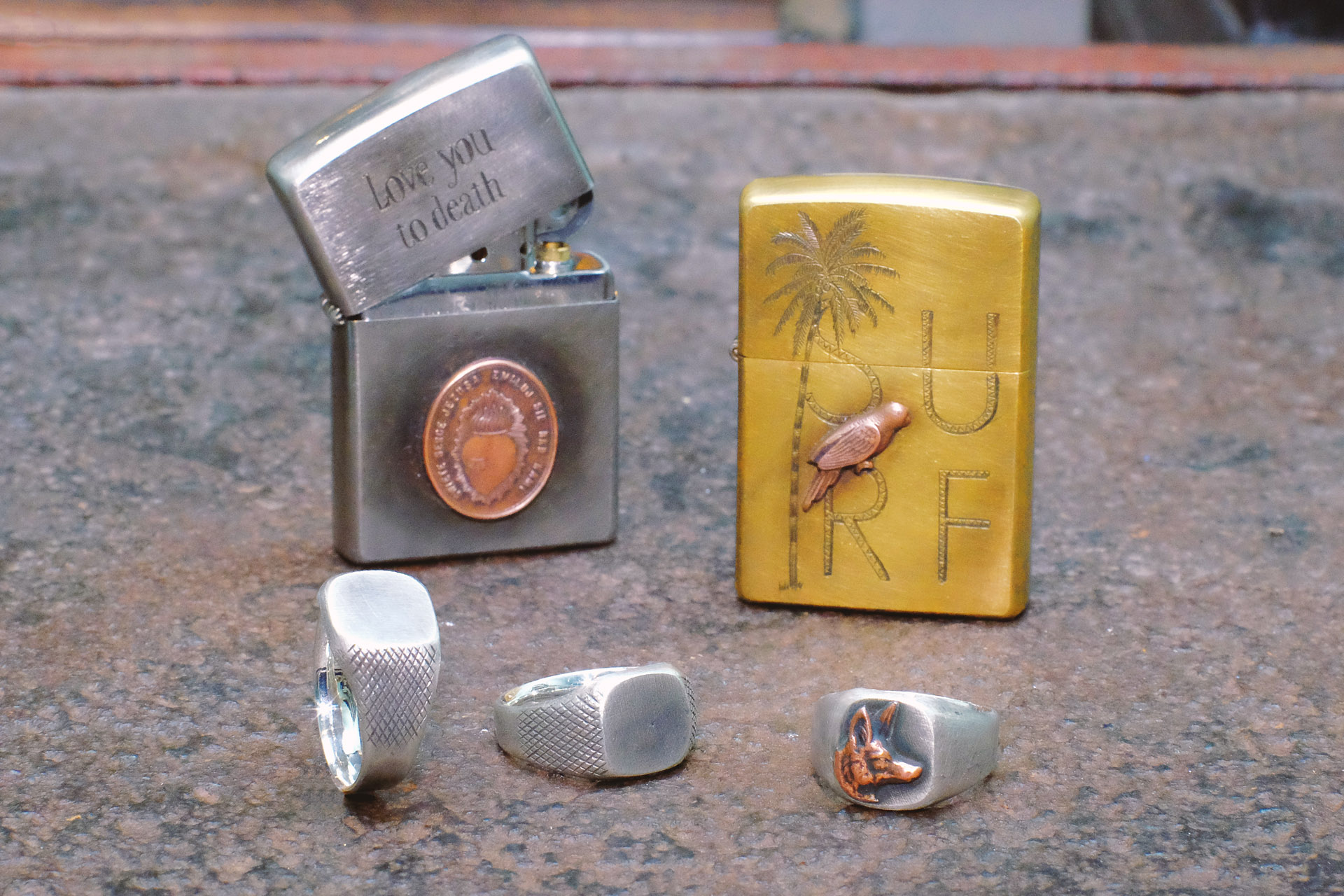 workshop811-ringe-silber-zippo-messing-uwevanafferden