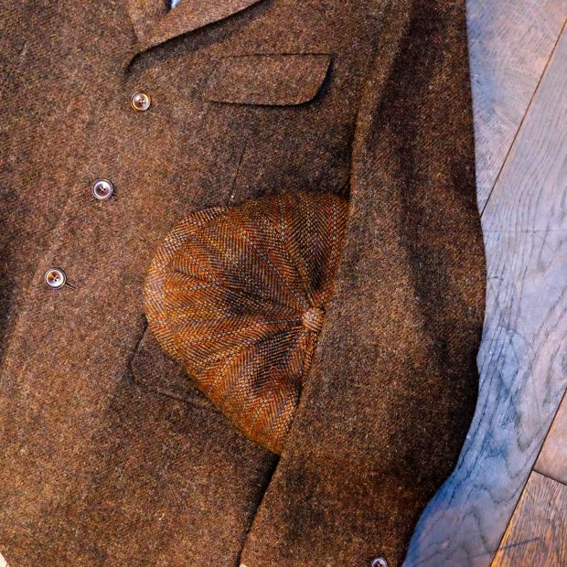 outfit-jeans-tweed-vibergboots-kappe-stevensonoverall-chambray-hemd-diefenthalundsohn