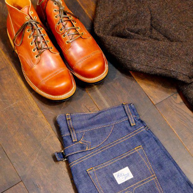 outfit-jeans-tweed-vibergboots-serviceboot-haversack-sakko