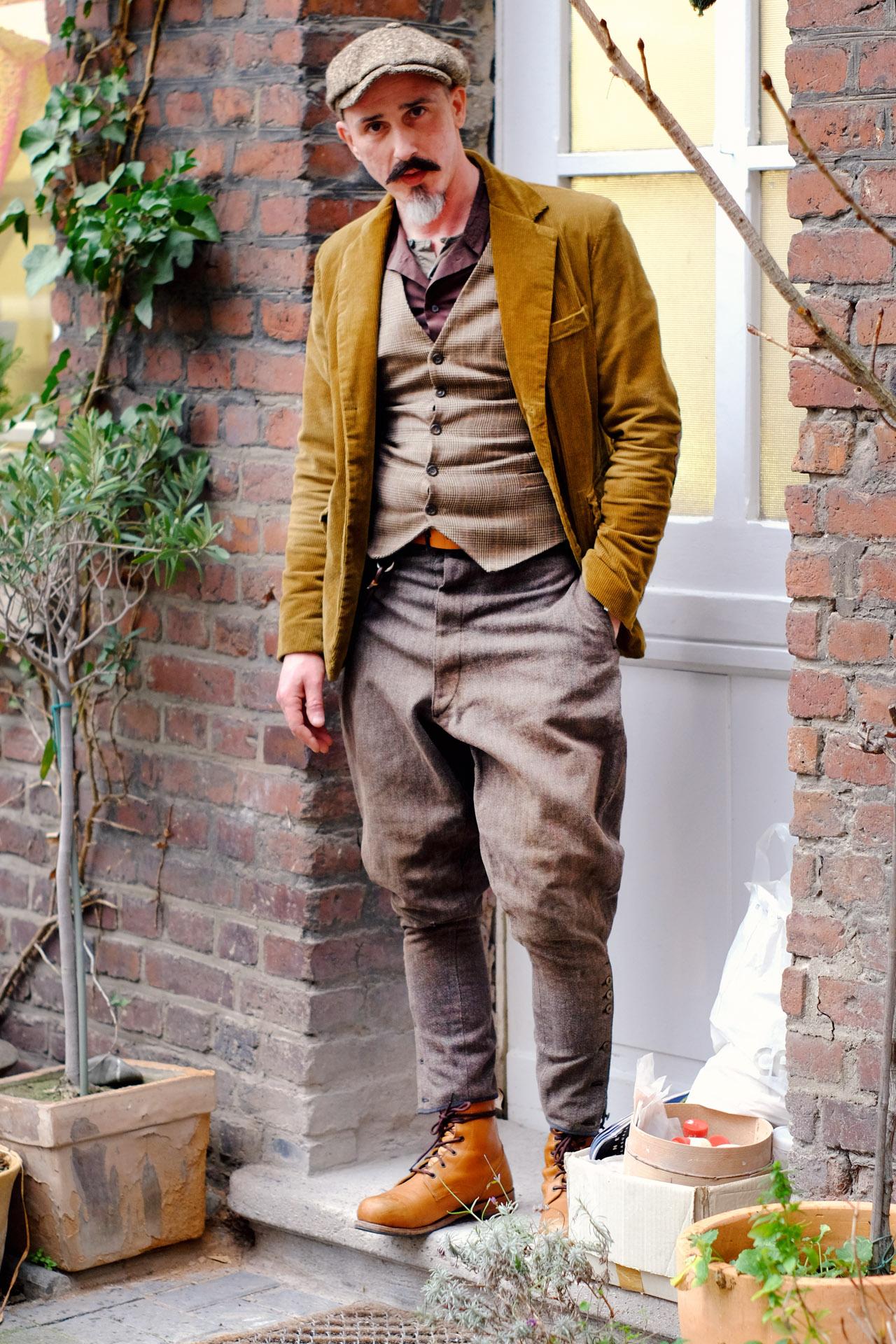 vintage-outfit-francesco-kord-sakko-weste-breeches